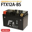 【1年保証付き】 F1 バッテリー 【スカイウェイブ250 タイプM JBK-CJ45A用】バッテリー【YT12A-BS】【FTZ9-BS】互換 MFバッテリー 【FT12A-BS】