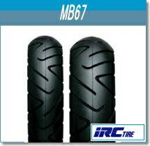 IRC[��奴��]MB67[110/90-13]55PTL�ե���[122514]�Х���������