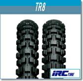 【セール特価】IRC[井上ゴム] TR8 [3.00-21] 4PR WT フロント [301700] バイク タイヤ【02P01Oct16】