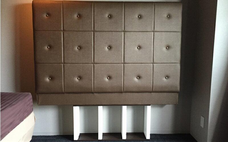 ホテル仕様の豪華な国産 ベッドヘッドボードのみの紹介画像3