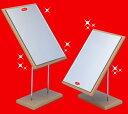 スタンドミラー 卓上ミラー(卓上鏡) 角型NA−53 ナピュアAdjustableスタンドミラー日本製 (堀内鏡工業)