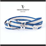 �ڽ����ޤǤϽ����ʤ� After SALE Episode2��TIBERIO FERRETTI/�ƥ��٥ꥪ�ե���åƥ� �٥�� �쥶�����åȥ� ��å���٥�� 9018�֥롼x�����ܥ꡼