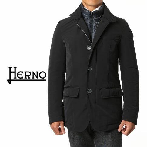 【秋冬】HERNO / ヘルノ メンズ SUB-ZERO撥水&ダウンジャケット ネイビー PI0290U 9200 SUB-ZERO