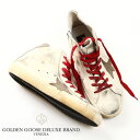 GOLDEN GOOSE / ゴールデングース フランシー ハイカット スニーカーFRANCY WHITE RED LACE SNEAKERS レア!リアルヴィンテージモデル g29ms591-a31