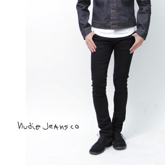 """Nudie jeans: Nudie Jeans TIGHT LONG JOHN タイトロング John power stretch スリムスキニー jeans Org. Black Black"