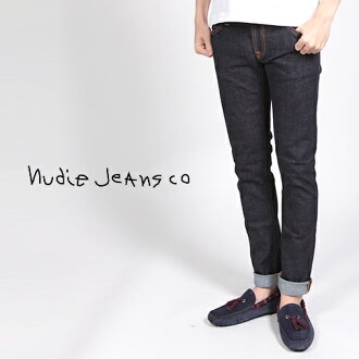 Nudie Jeans Nudie jeans TIGHT LONG JOHN タイトロング John fine models ORG. TWILL RINSED ストレッチデニムスーパーストレッチスリム jeans 38161-1011 035 fs2gm