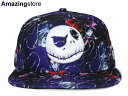 NEW ERA NIGHTMARE BEFORE CHRISTMAS 【JACK ALL-OVER/MULTI】 ニューエラ ナイトメアー ビフォア クリスマス 59FIFTY FITTED CAP フィッテッド [帽子 ヘッドギア new era cap ニューエラキャップ 17_4_4CHA]