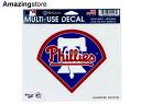 【あす楽対応】ウィンクラフト フィラデルフィア フィリーズ 【PHILADELPHIA PHILLIES MLB MULTI-USE DECAL-2】 WINCRAFT [for3000 18_1_5WIN]