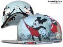 NEW ERA ニューエラ DISNEY ディズニー MICKEY MOUSE ミッキーマウス 【HI-RES RIVALS/MULTI】 [帽子 ヘッドギア new era コラボ キャップ newera 大きい サイズ メンズ レディース WORK CAP]