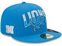 NEW ERA DETROIT LIONS 【NFL 2013 DRAFT/BLUE】ニューエラ デトロイト ライオンズ 帽子 ヘッドギア new era cap ニューエラキャップ new eraキャップ neweraキャップ 大きい サイズ メンズ レディース AIR JORDAN LA JAY-Z NY BK LEBRON SUPREME コラボ