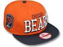 NEW ERA ニューエラ CHICAGO BEARS シカゴ ベアーズ 【2T NFL ENGLISH-WORD SNAPBACK/ORG-NAVY】 帽子 ヘッドギア new era cap ニューエラキャップ new eraキャップ neweraキャップ 大きい サイズ メンズ レディース WORK CAP ワークキャップ LA CAP