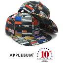 【あす楽対応】APPLEBUM Amazingstore 【10th Anniversary EXCLUSIVE K.B.A.S 6PANEL SNAPBACK/MULTI】 アップルバム アメイジングストア 10周年記念 スナップバック [ 帽子 ヘッドギア キャップ メンズ レディース]