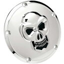 [Derby cover] 3D scull Derby cover: It is conformity Harley parts for a twin cam model after 1999