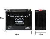 YUASA ハーレー用バッテリー 【YTX20L-BS】 ハーレーパーツ