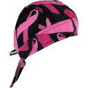 б┌25040203б█ е╨еєе└е╩енеуе├е╫ Black/Pink Breast Cancer Ribbon Flydanna е╧б╝еьб╝еве╤еьеы