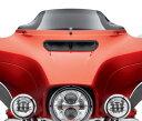 【57400205】 ウインドスプリッター・ウインドシールド/高さ:178mm カラー:ダークスモーク ハーレー純正パーツ