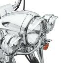 【69794-07】 スカル・ヘッドライトバイザー /146mmヘッドライト用 ハーレー純正パーツ
