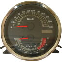 【22100332】 スピード&タコメーター:スピード&タコメーター本体 ハーレーパーツ