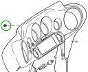【24040620】 フェアリングインサート リペアキット:リペアキット (工具+インサート3個) ハーレーパーツ