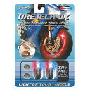 【480393】 TIRE TECHNIX モーションアクティベート バルブキャップ レッド/ホワイト/ブルー ハーレーパーツ