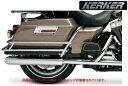 【マフラー】※送料無料※ ★ KERKER スリップオンマフラー ツーリングモデル:2010以降ツーリングモデルに適合 ハーレーパーツ