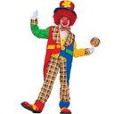 ピエロ 衣装、コスチューム 子供男性用 Clown Around Town |3-3
