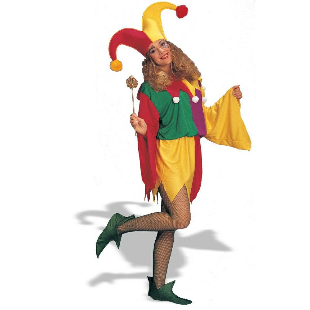 道化師 ピエロ 衣装、コスチューム 大人女性用 King's Jester