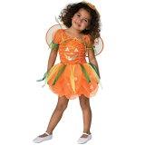 南瓜 南瓜 服装,戏装 孩子女士用 万圣节Pumpkin Pie[かぼちゃ パンプキン 衣装、コスチューム 子供女性用 ハロウィンPumpkin Pie]