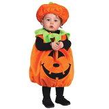 かぼちゃ ハロウィン 衣装 コスチューム 子供用 Soft and Comfy Pumpkin