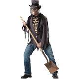 墓場の泥棒 骸骨 衣装、コスチューム 大人男性用 コスプレ ホラー Grave ROBBER