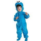 クッキー・モンスター 衣装、コスチューム 幼児男性用 セサミストリート 0