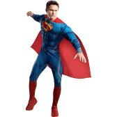 スーパーマン 衣装、コスチューム DLX 大人男性用 マン・オブ・スティール|36-1