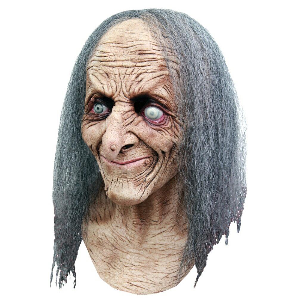 白髪老婆 魔女 ホラーマスク ゾンビ HAGATHA:アメリカンコスチューム楽天市場店