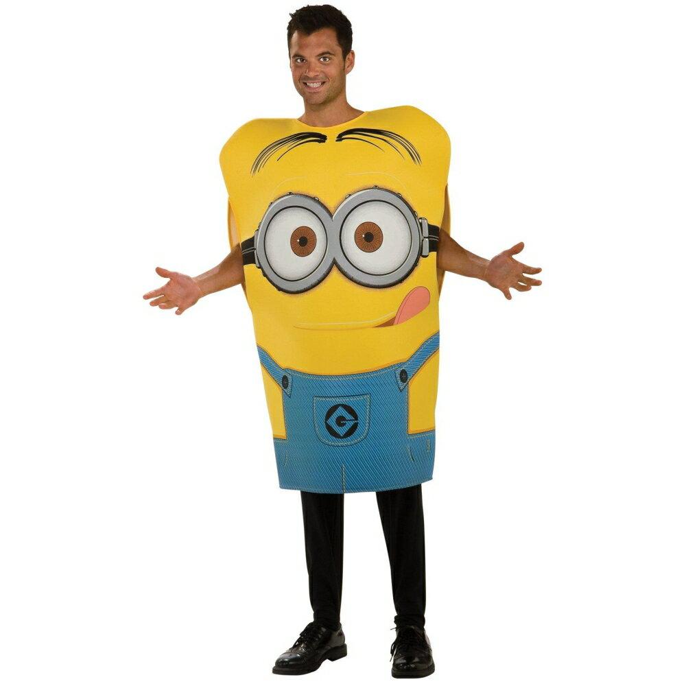 ミニオンデイブ衣装、コスチューム大人男性用映画怪盗グルー着ぐるみDespicableMe2DaveM