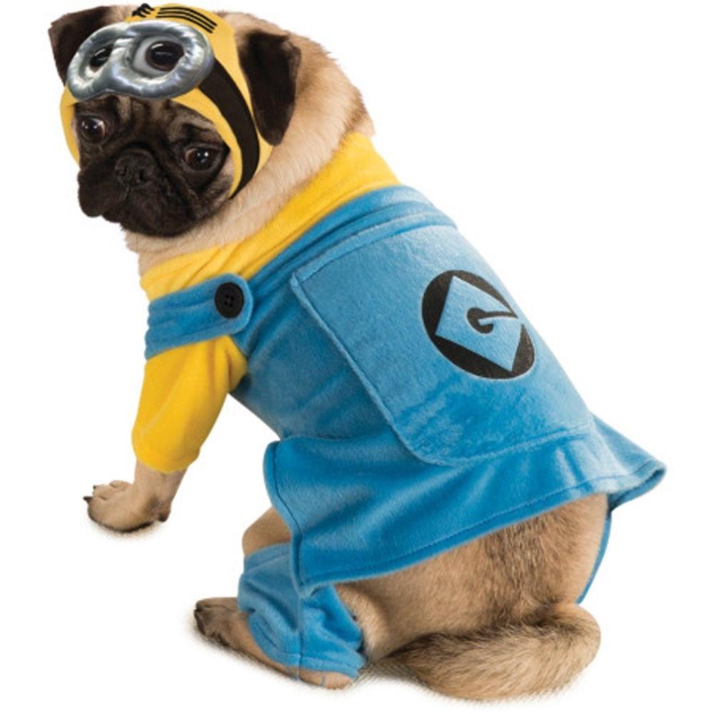 ミニオン衣装、コスチュームペット用犬