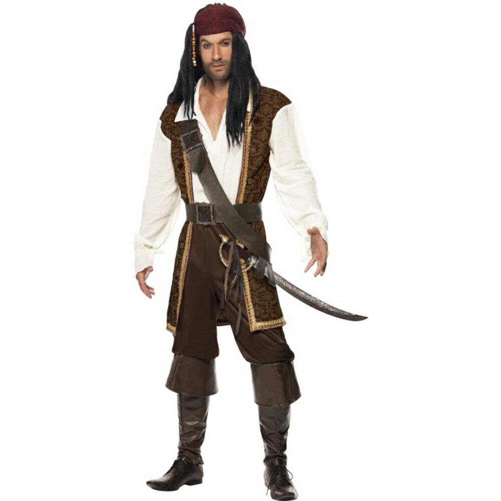 海賊茶衣装、コスチューム大人男性用HighSeasPirate