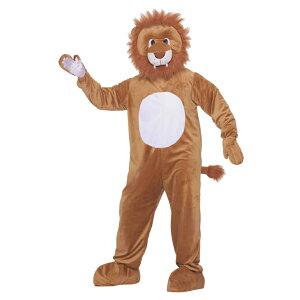 ライオン 着ぐるみ 衣装、コスチューム LEO THE LION MASCOT 動物