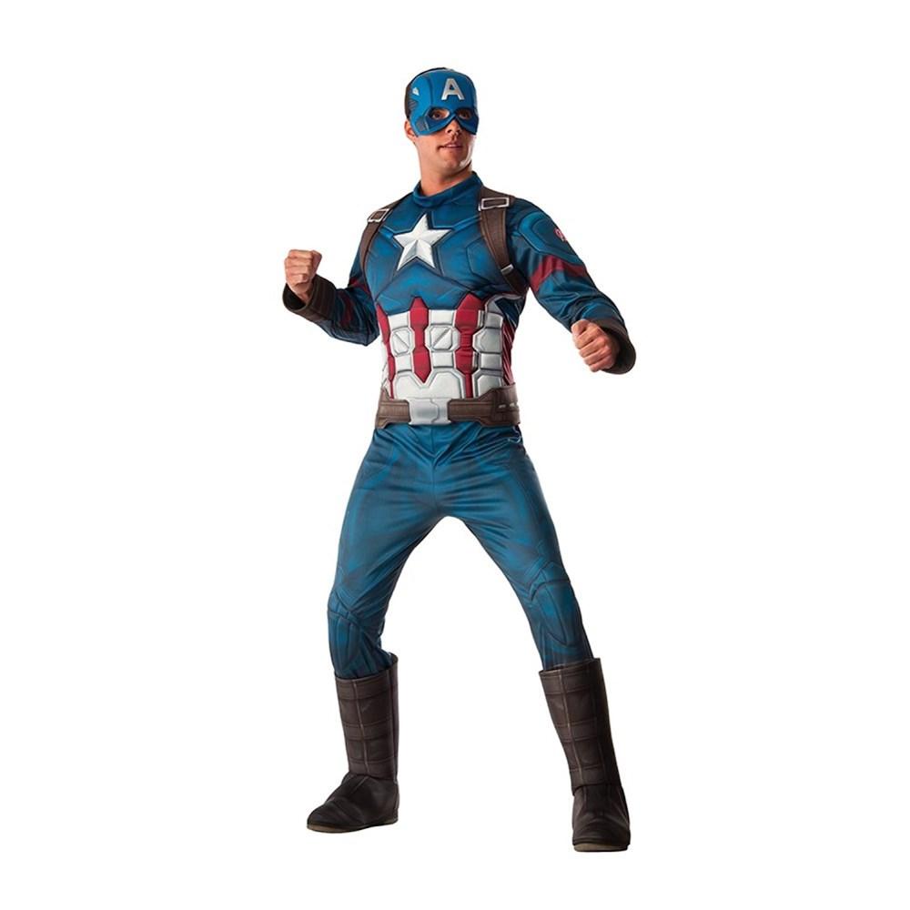 キャプテン・アメリカ衣装、コスチューム大人男性用AvengersAgeofUltron