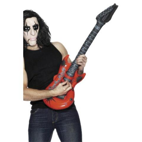 ギター エアー バルーン パーティーグッズ 空気で膨らむ ミュージシャン 大人男性用 Infl atable Guitar