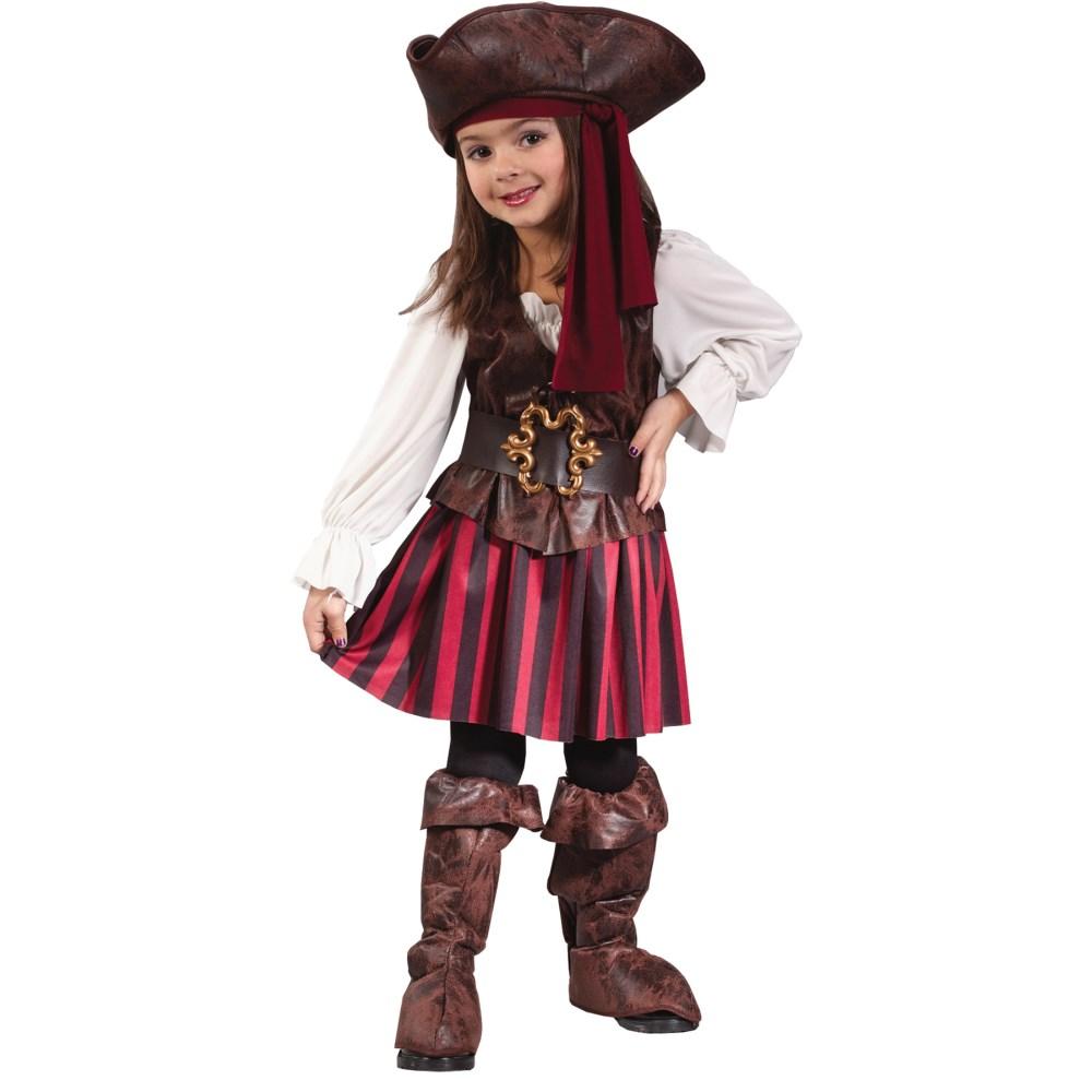 ハイ・シーズ・パイレーツ海賊衣装、コスチューム子供女性用ドレス