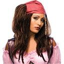 女海賊 Sassy ウィッグ、かつら ブラウン 女性用|w5-4