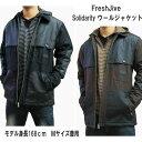 フレッシュジャイブ FreshJive メンズ ジャケット SOLIDARITY アウタ− ウールジャケット