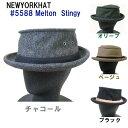 ショッピングハンチング NewYork Hat ニューヨーク ハット 帽子 ポ-クパイ メルトン メンズ キャップ ハンチング