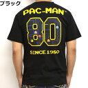 パックマン PAC-MAN PCM-05 80 半袖 Tシャツ ドットアーケード ファミコン 昭和 ナムコ ゲーム メンズ 送料無料
