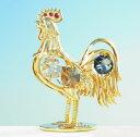 誕生日 プレゼントスワロフスキー クリスタル SWAROVSKI 鳥縁起物 干支 酉年 雄鶏 ニワトリ 置物まとめ買いの絶好のチャンス!最安値挑戦中!