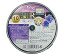 【VENUS】【DVD-R】【CPRM対応】【データ/ビデオ用】【1-16倍速】【4.7GB】【ワイドプリンタブル白】【10枚】CV16X10PW