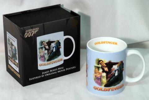 007 JAMES BOND BOXED MUG★007(ジェームズ・ボンド)★箱入りマグカップ★GOLDFINGER★ゴールドフィンガー(ショーン・コネリー)