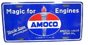 CM PLATE AMOCO Magic for Engines CMプレートの画像