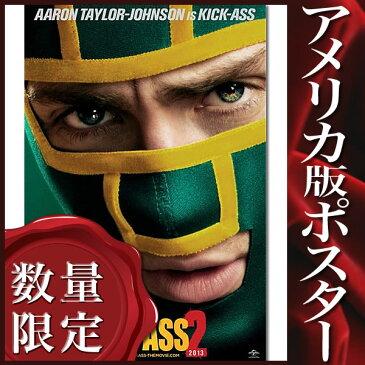 【映画ポスター】キック・アス ジャスティス・フォーエバー (アーロン・ジョンソン) /Aaron INT-ADV-DS