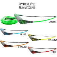 ウェイクボード ハイパーライト セット 2019 HYPERLITE TEAM PACKAGE W/ X-LINEの画像